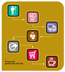 Economia del cafe - de productor a consumidor