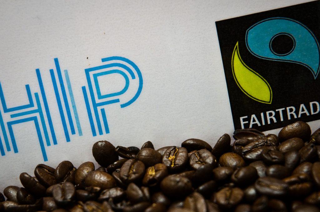 Sello FAIR TRADE para café