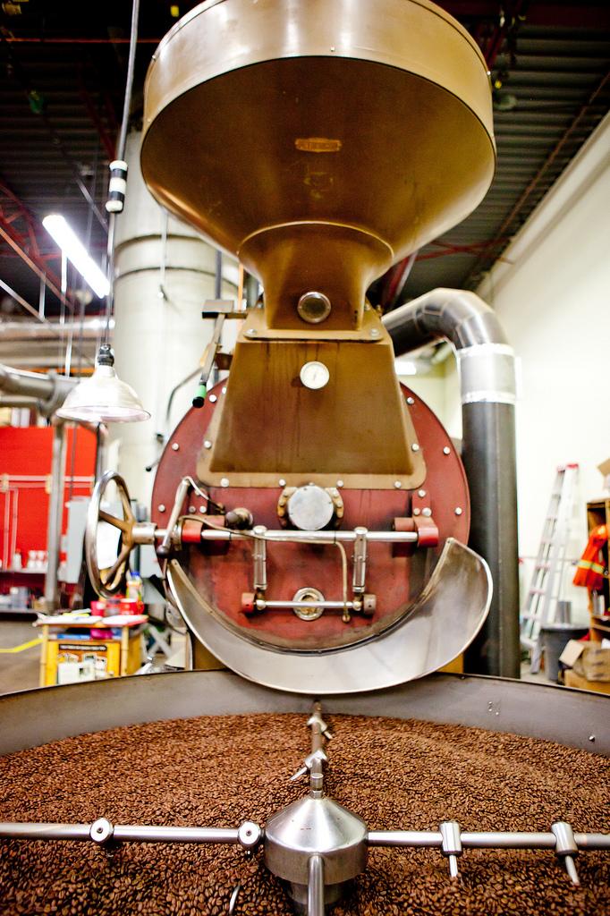 máquina para tostar café verde