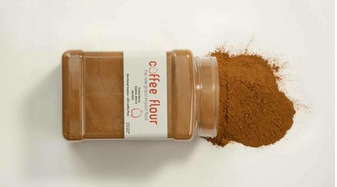 Harina elaborada con cáscara y cascarilla de café.