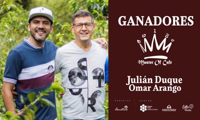 Ganadores del Master of Cafe Colombia